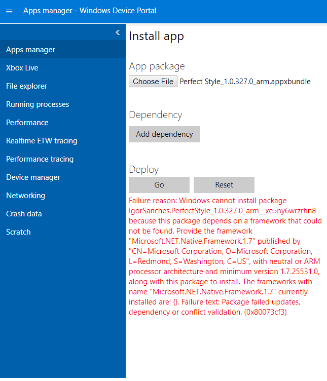 Dependency Files For Installing Appx/AppXBundles – All About Windows
